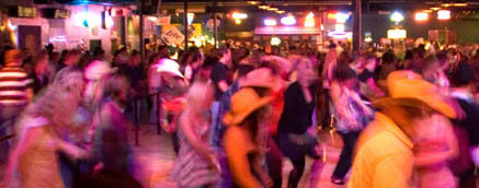 Line Dancing At The Old Town Temecula's Stampede